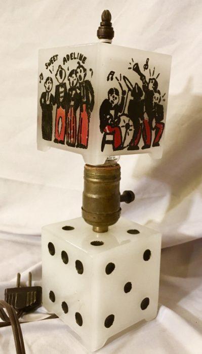 Speak easy bar lamp 1920's