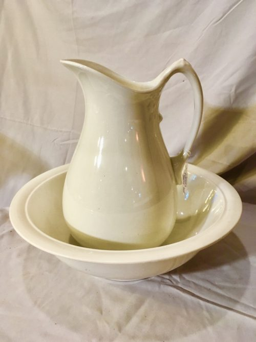 Pitcher and bowl set -1913