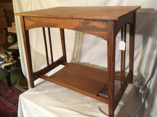 Arts and Crafts table ca.1920
