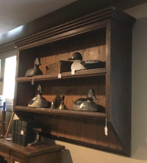 Wall shelf ca.1840