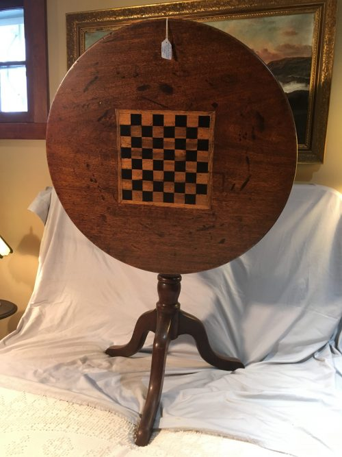 Chess Table Ca. 1860