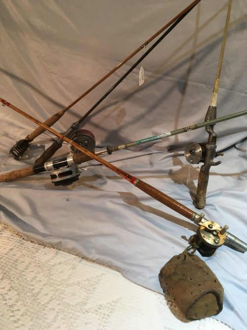 Vintage Fishing Rods and gear