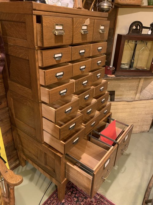 Multi  drawer stacking filing cabinet Ca 1900t