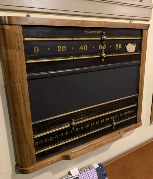 Brunswick Pool Score Board Ca 1920s-30s.