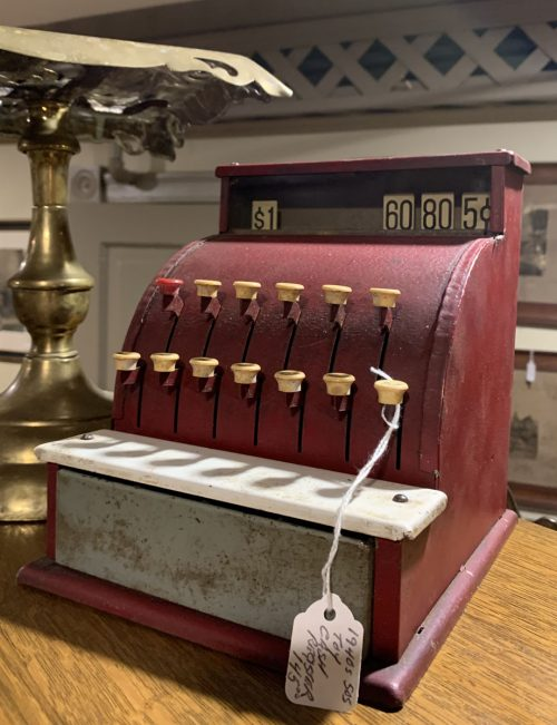 Toy Cash Register 1940s-50s.