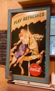 Coca Cola 1948 Carousel Poster.