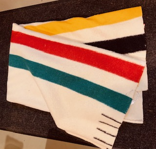 Hudson Bay Blankets 1940s-60s.